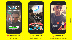 Snapchat-Geofilters